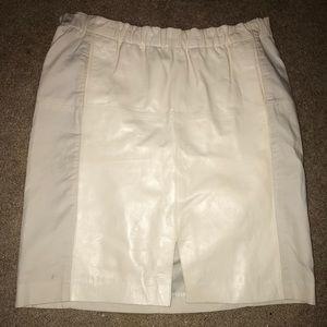 Size 12 Halstrom Heritage Leather Skirt